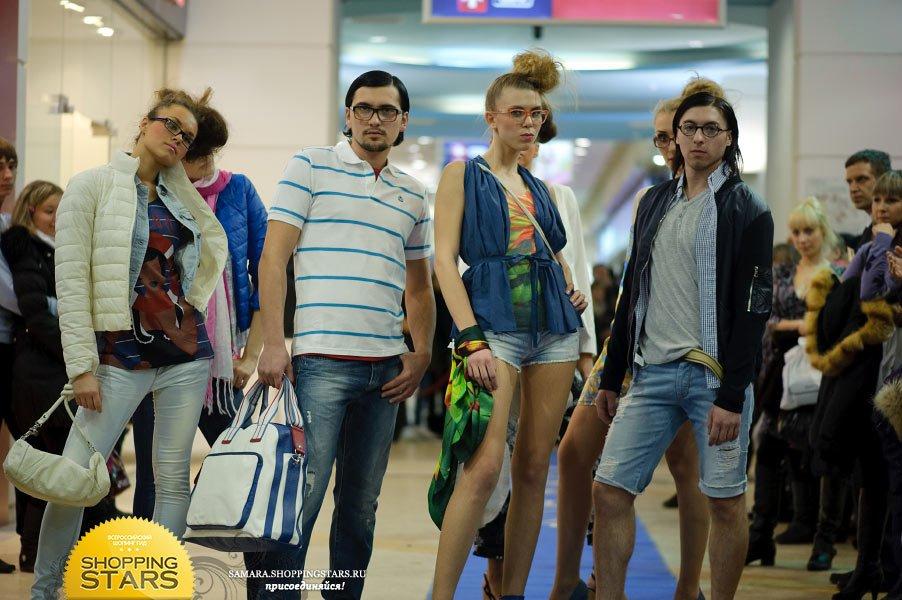 """Fashion show в Парк Хаусе  """" Модельное агентство - Стрекоза. г. Самара."""