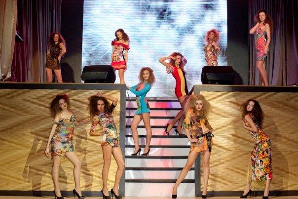 "Fashion show в Днк ""ART&FACT"""