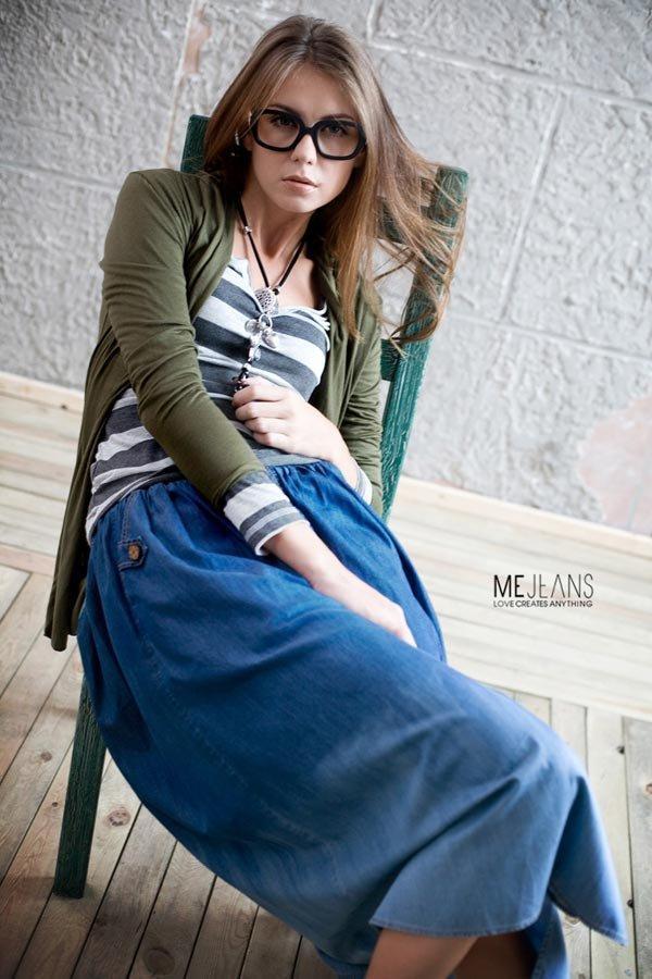 Olga Proskuriakova. Catalogue Me&Jeans. Shanghai. China.