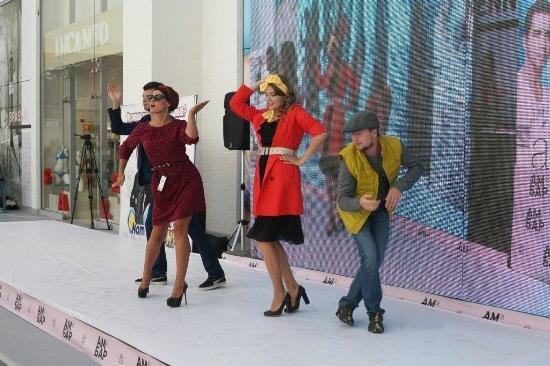 Fashion Show в ТЦ Амбар